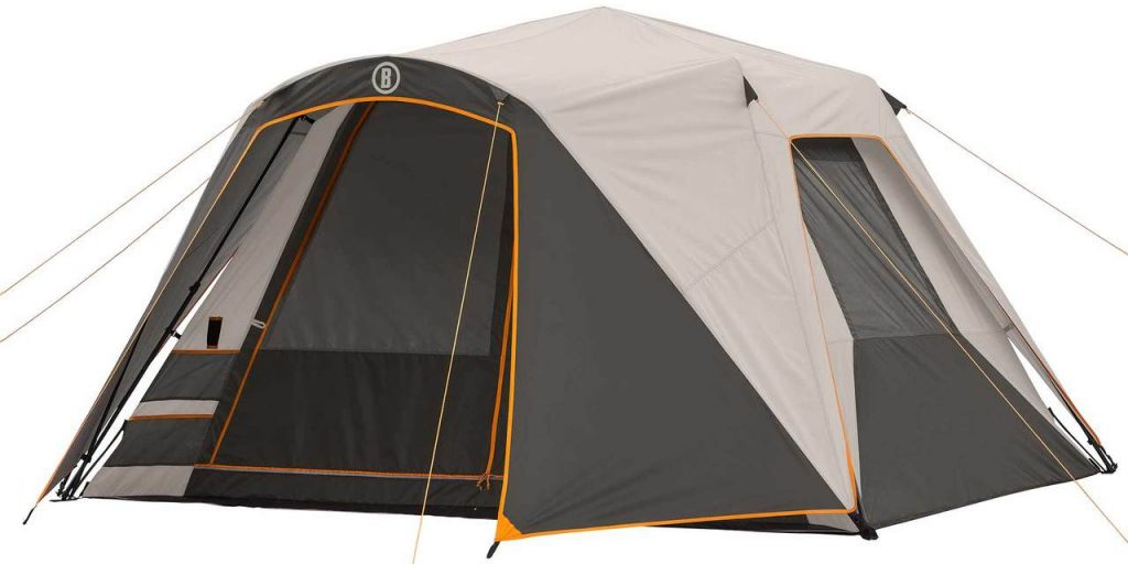 Bushnell Shield 6 person tent with AC port