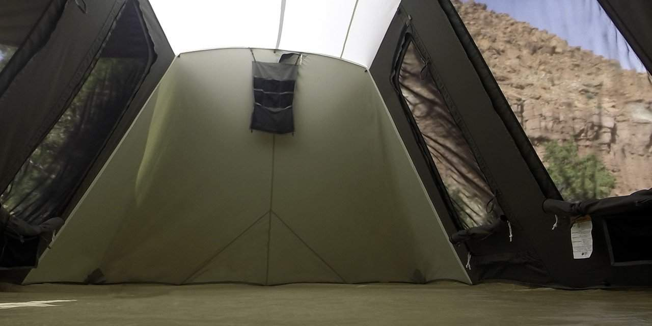 Kodiak Canvas flex bow interior