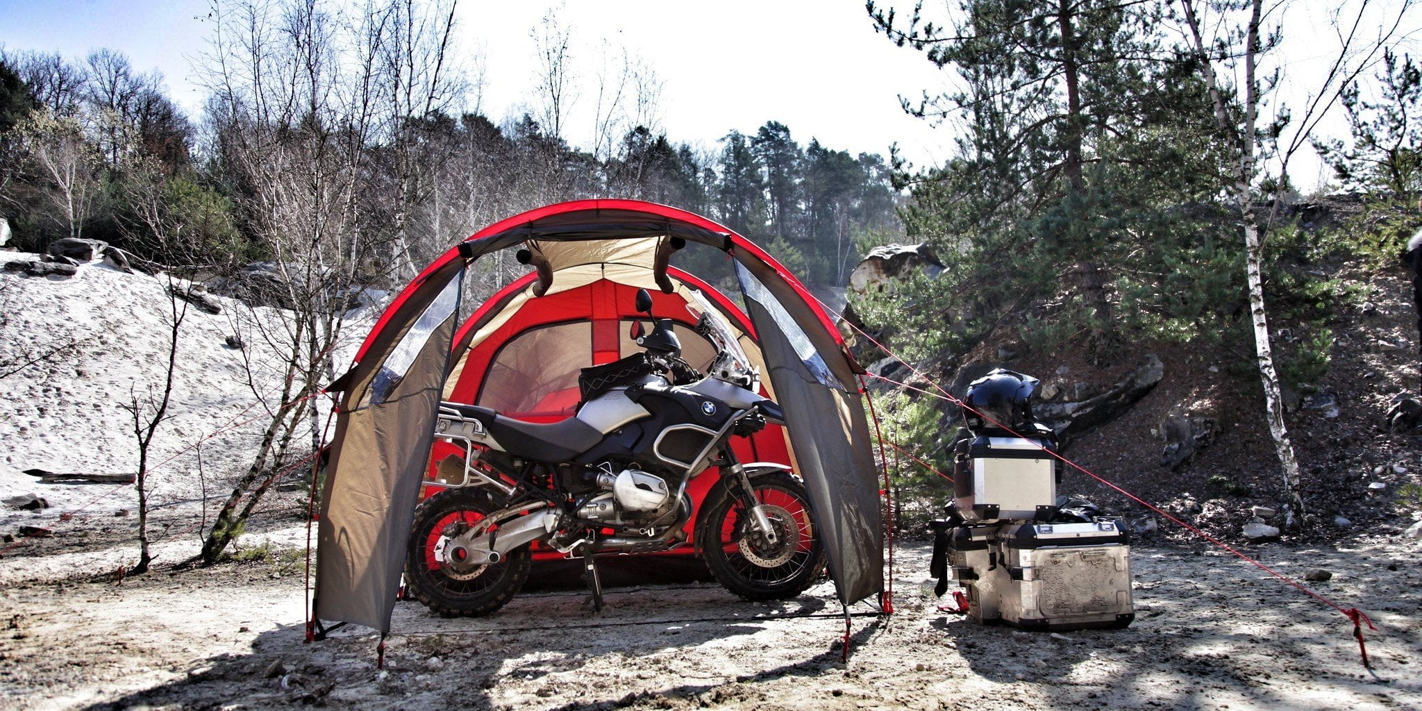 best tents for motorcyle camping