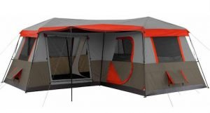 Ozark Trail 16x16 tent with AC port
