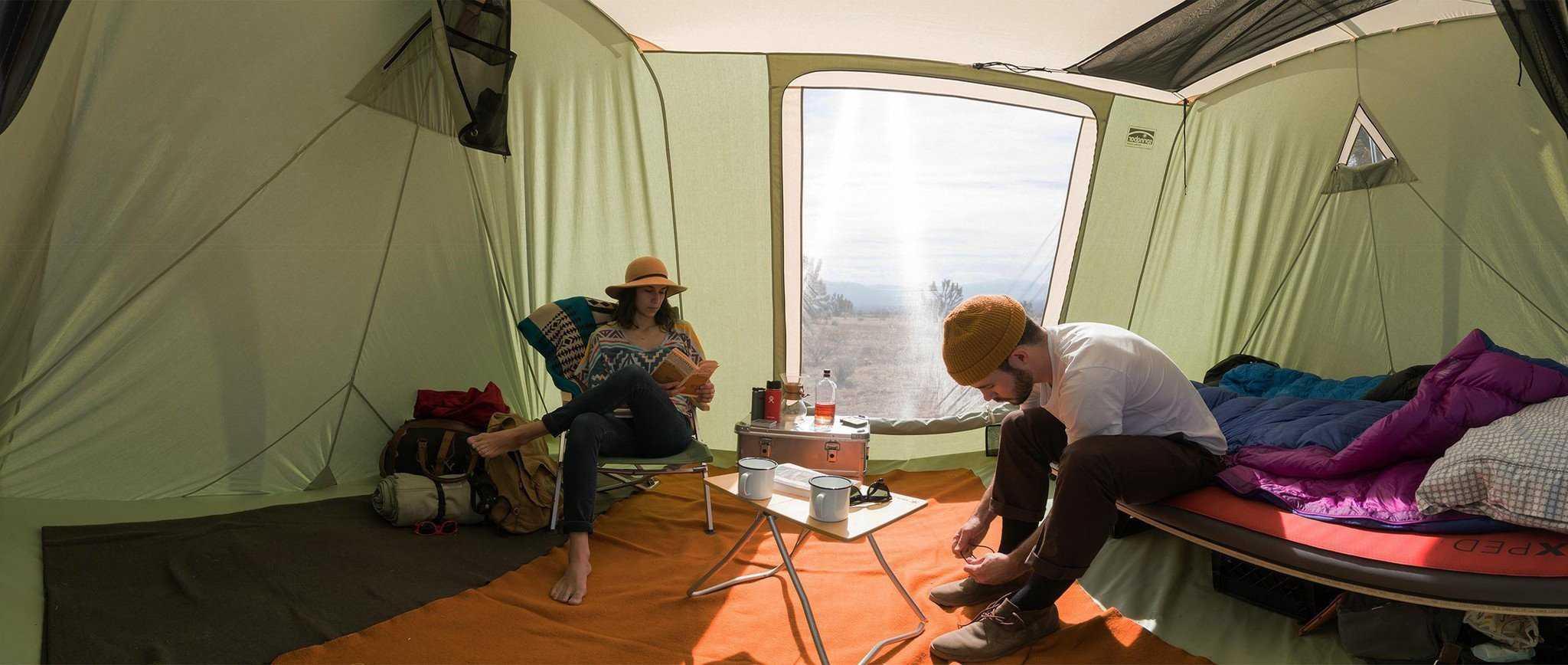 Springbar Highline Canvas Tent Interior