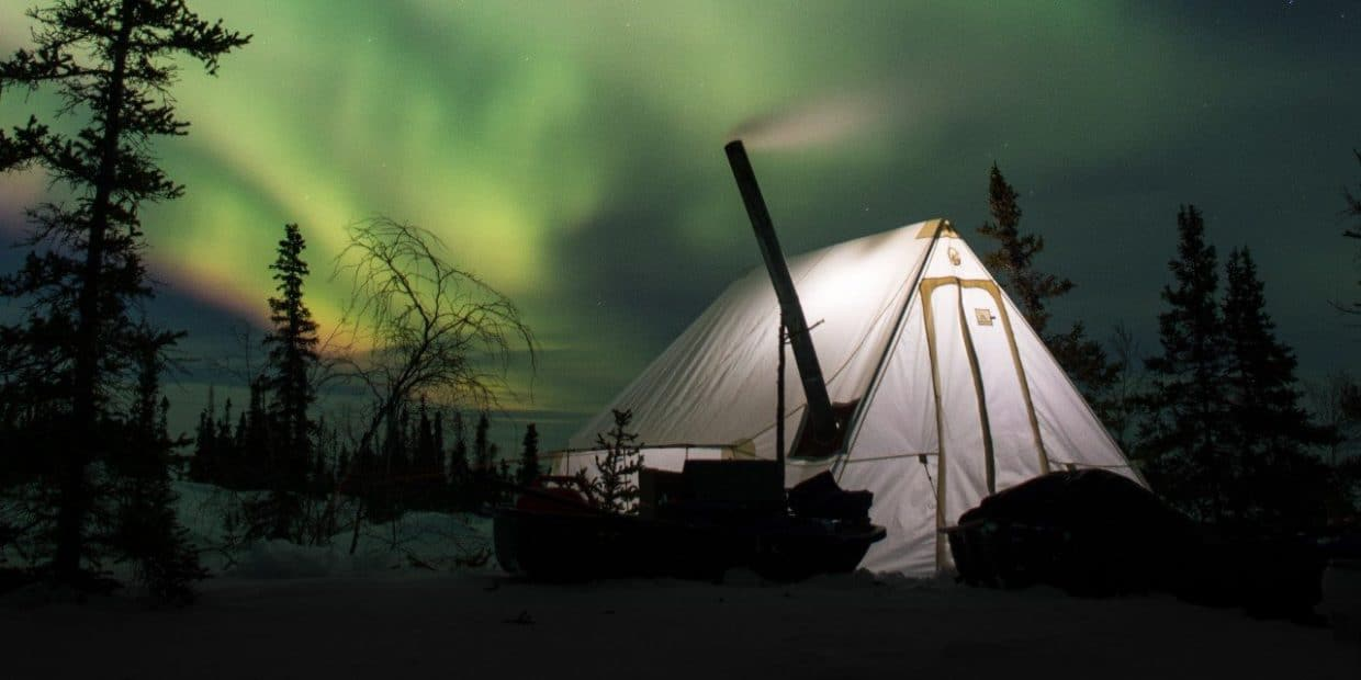 best hot tent for winter camping