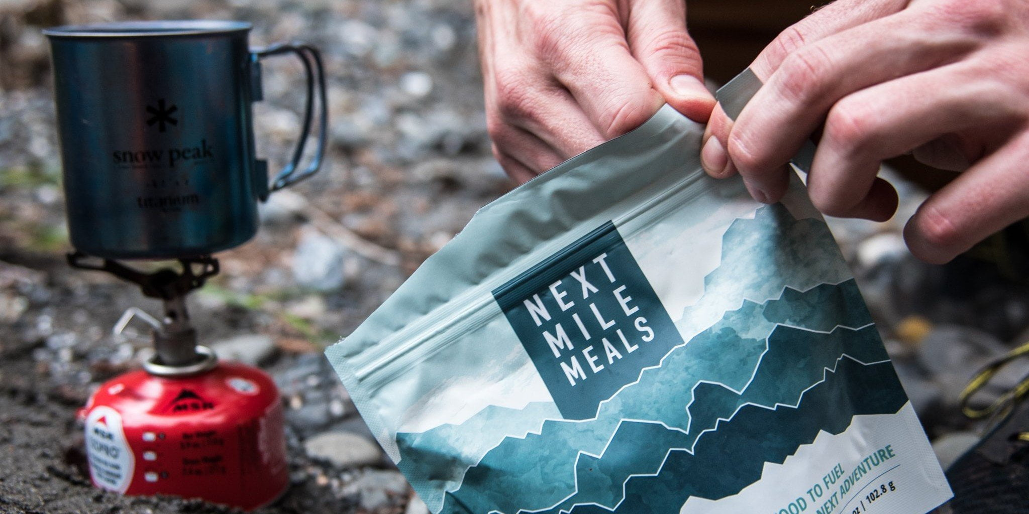 Next Mile Meals Keto Camping and Backpacking meals