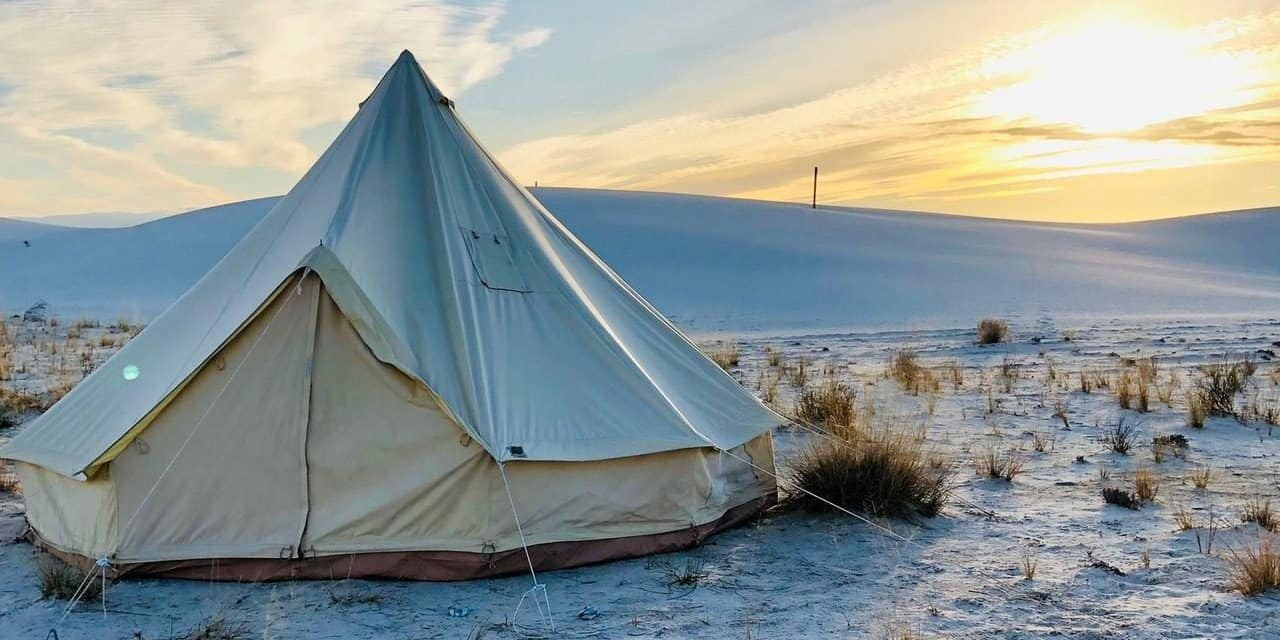 Stout bell canvas hot tent