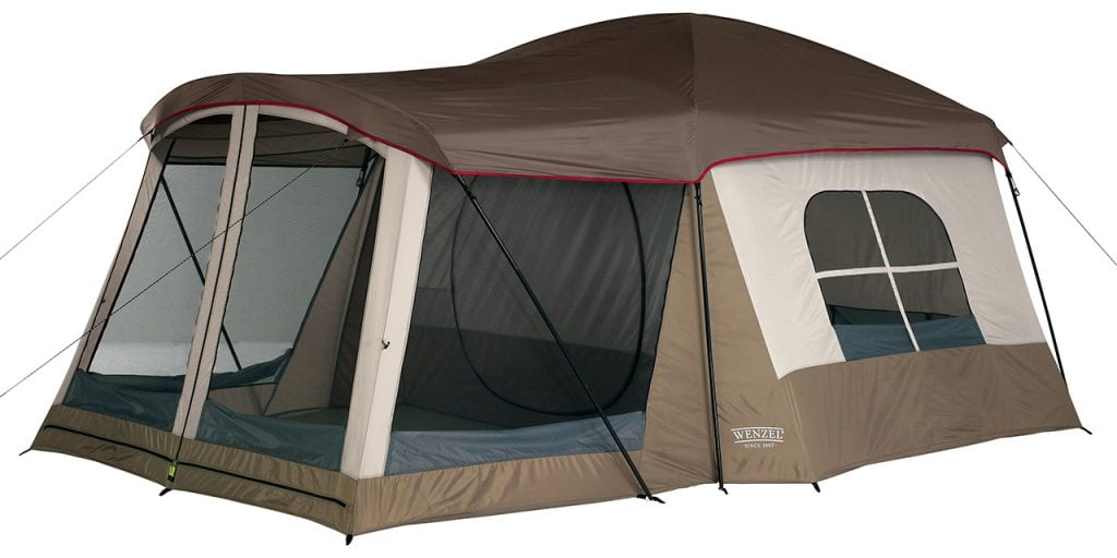 Wenzel Klondike 8 person tent with AC port