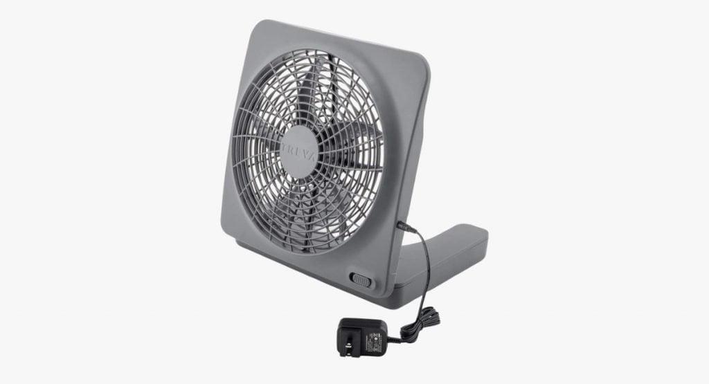 02COOL battery powered personal fan