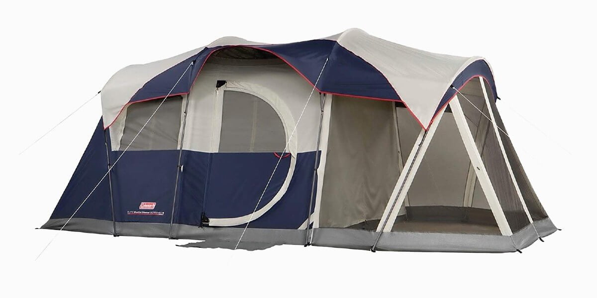 Coleman Elite Weathermaster LED lighted tent