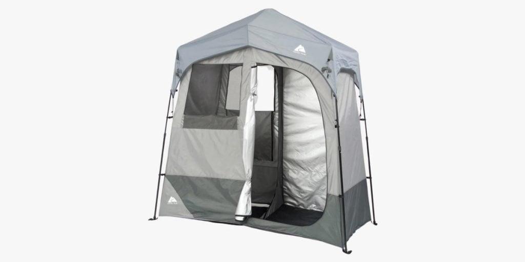 Ozark Trail instant 2-room shower tent