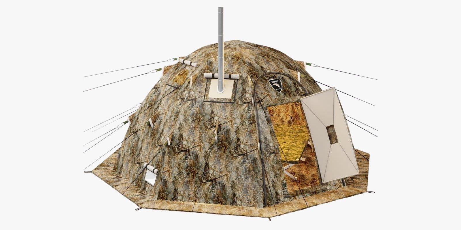 Russian Bear Hot Tent