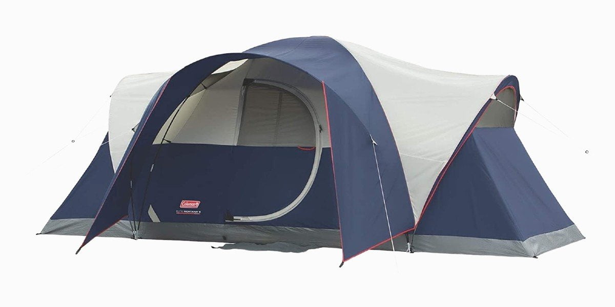 Coleman Elite Montana lighted tent