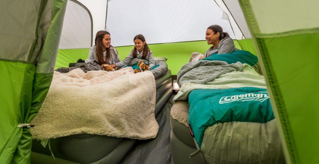 best tent for queen size air mattress