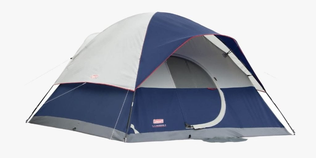 Coleman Elite Sundome LED lighted tent