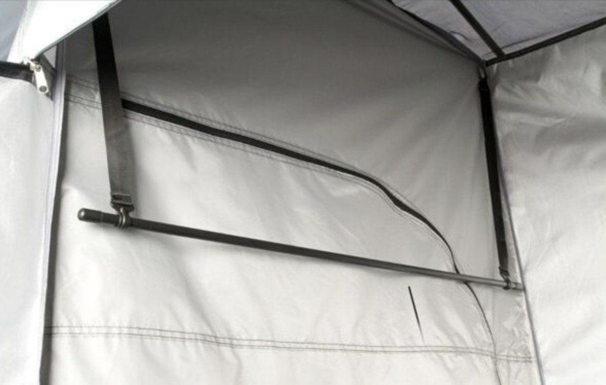 ozark trail 2-room shower tent interior