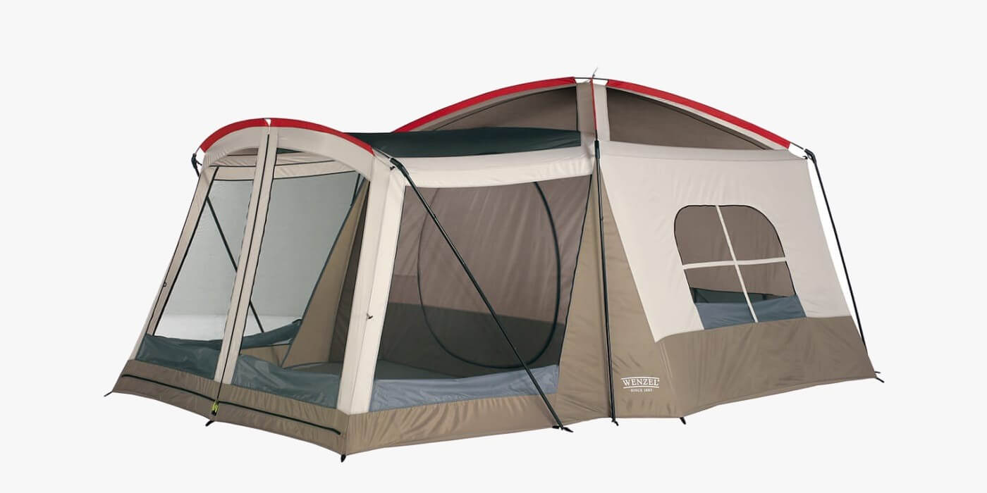 Wenzel Klondike tent with air conditioner slot