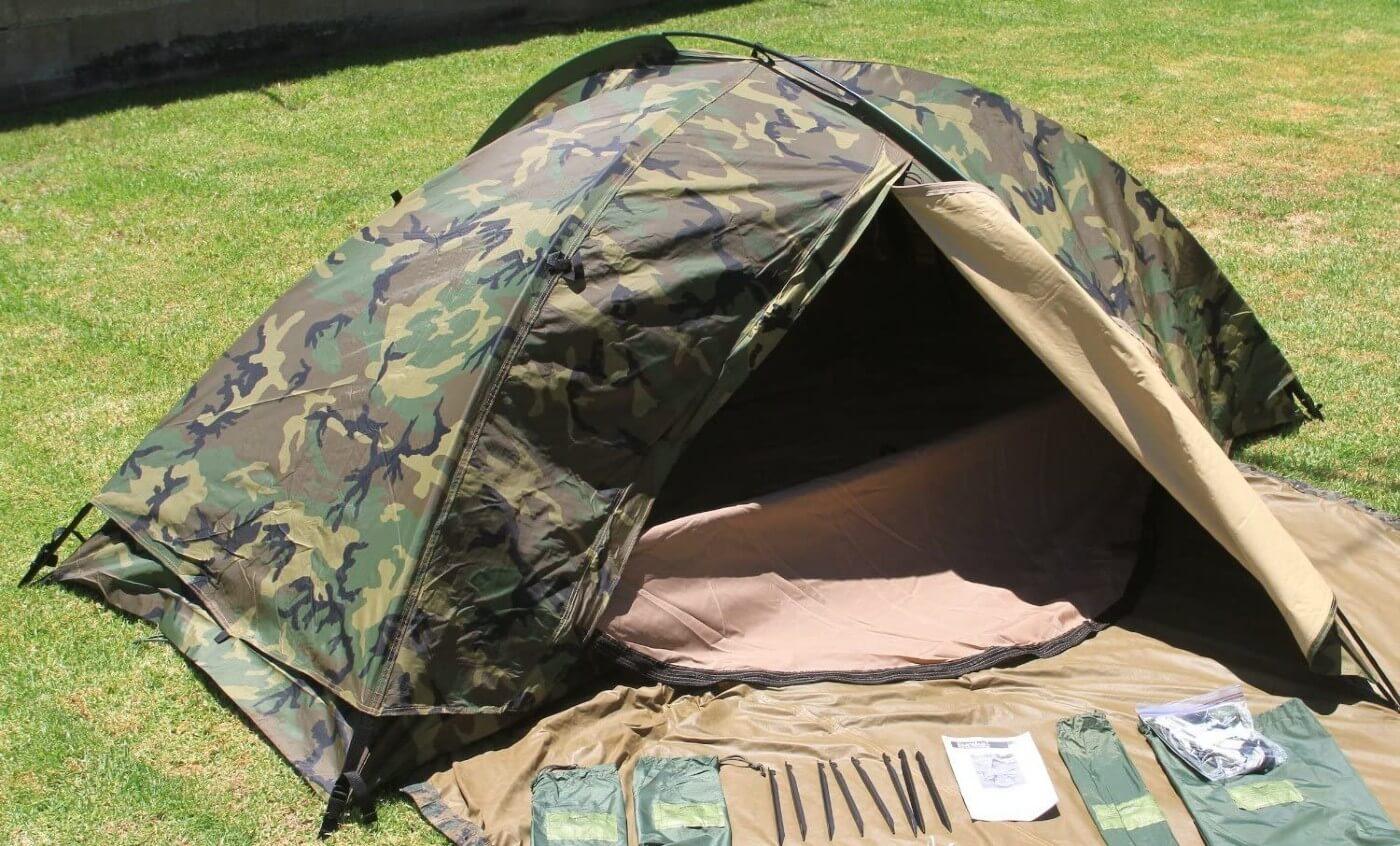 Eureka Combat TCOP camo tent