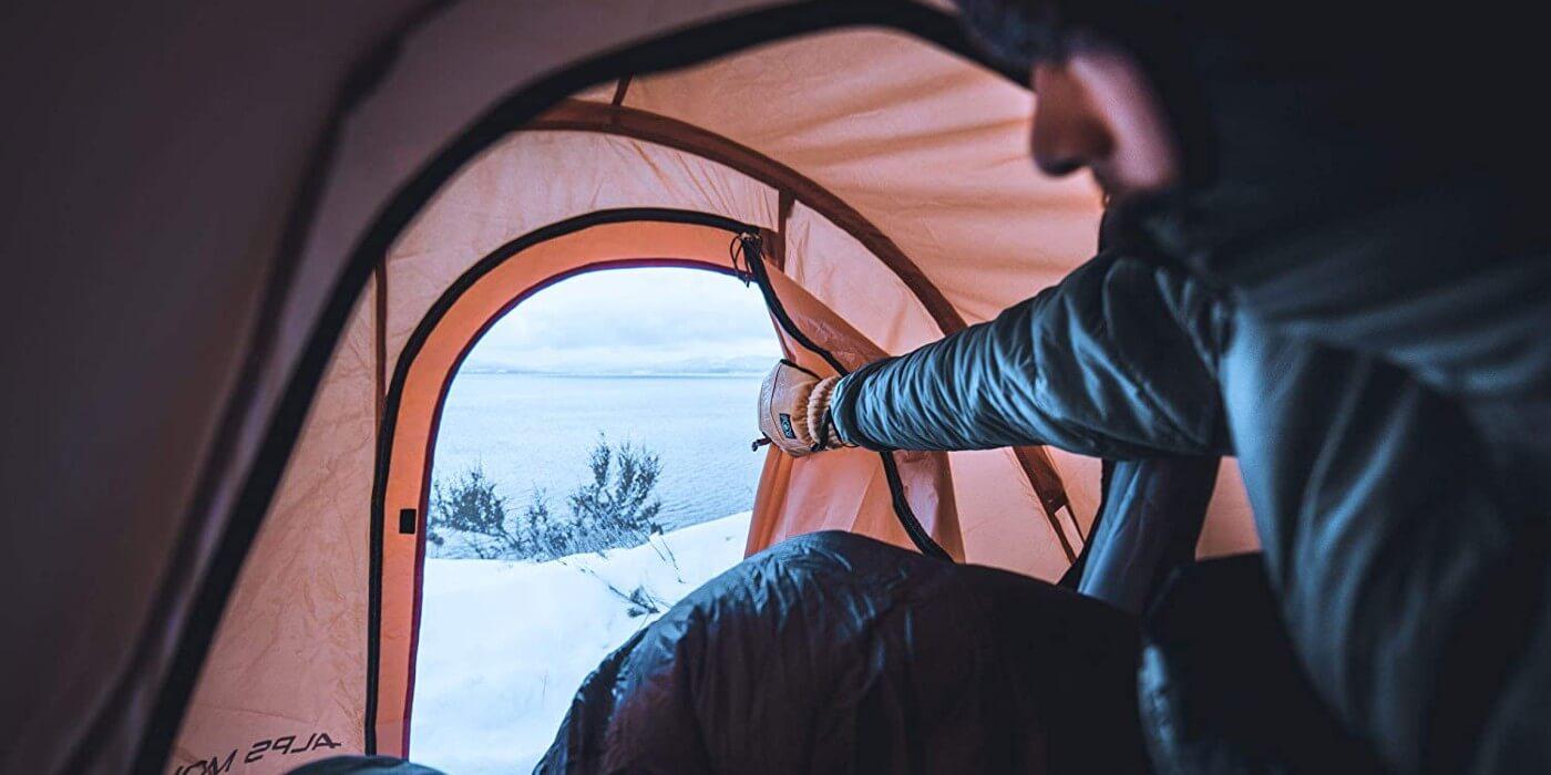 Alps mountaineering tasmanian tent interior