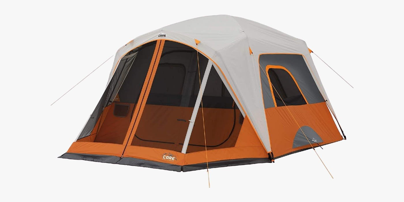 CORE cabin tent with screened porch