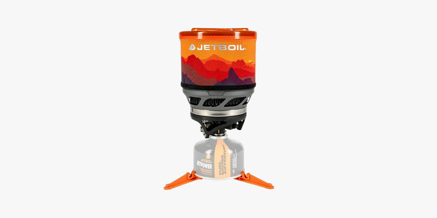 Jetboil camping and backpcking cooking system