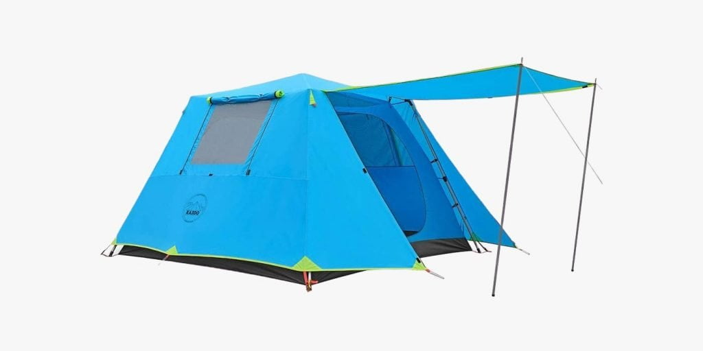 Kazoo instant family tent with awning