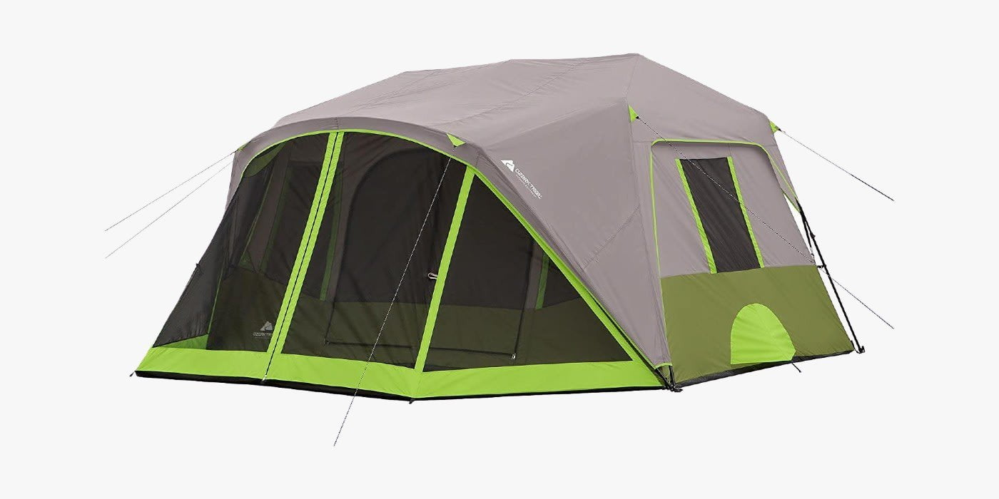 Ozark Trail instant tent with screen room