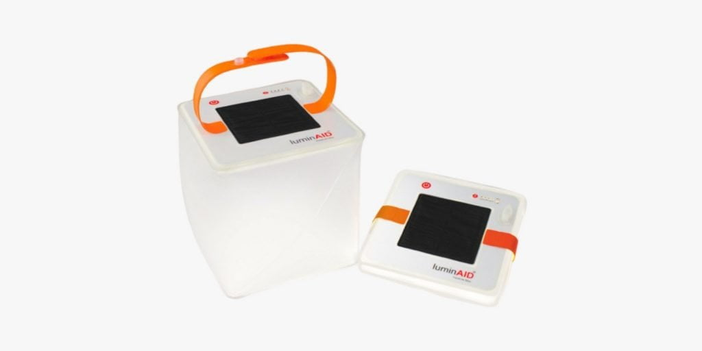 solar powered lantern for camping