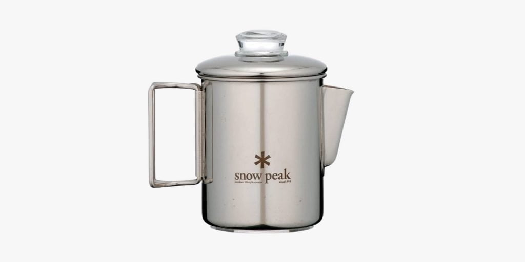 stainless steel coffee pot for camping