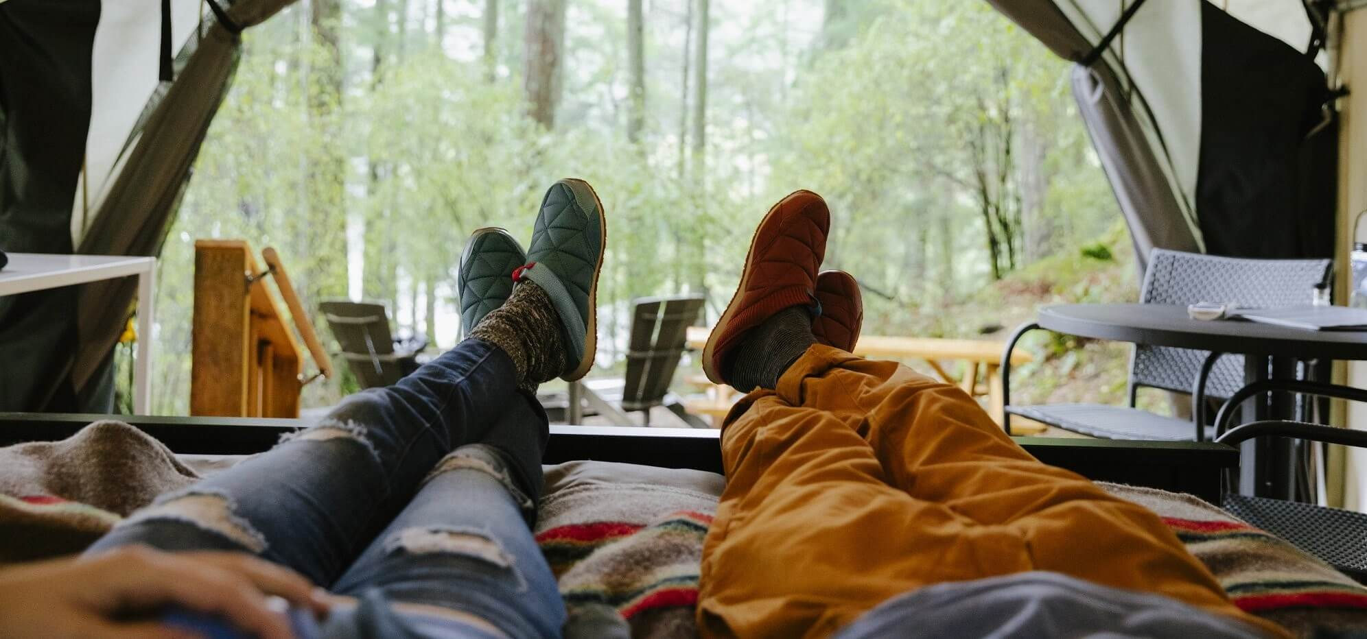 7 best camping slippers in 2020: comfy slippers to wear in and out of your tent