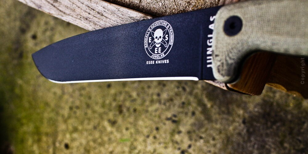 ESEE Junglas camping knife