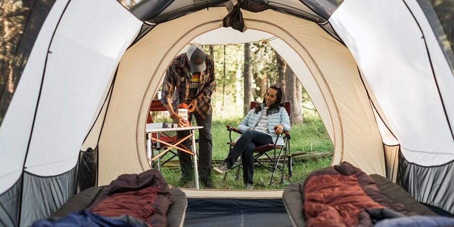 best 8 man tent