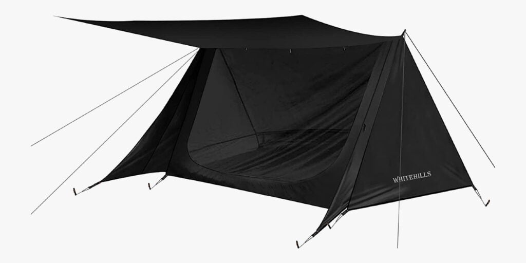 WhiteHills Ultralight Backpacking Black Tent