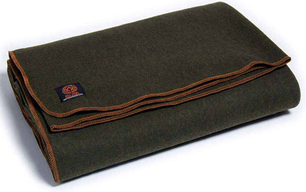 arcturus-military-wool-blanket-for-cold-weather-camping