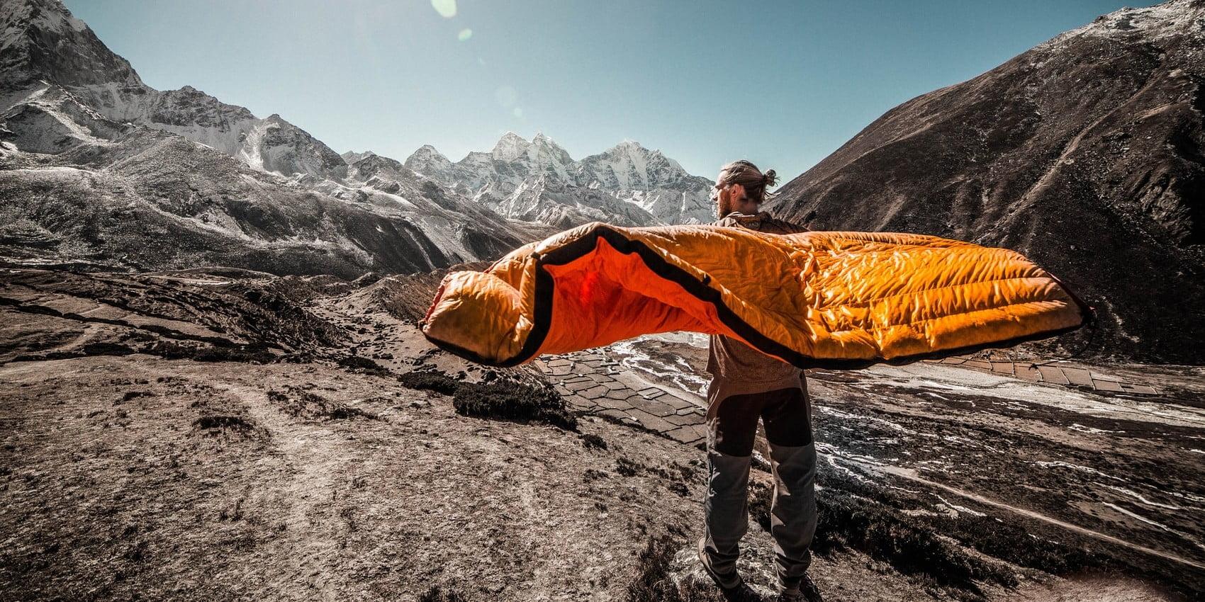 best winter synthetic sleeping bag