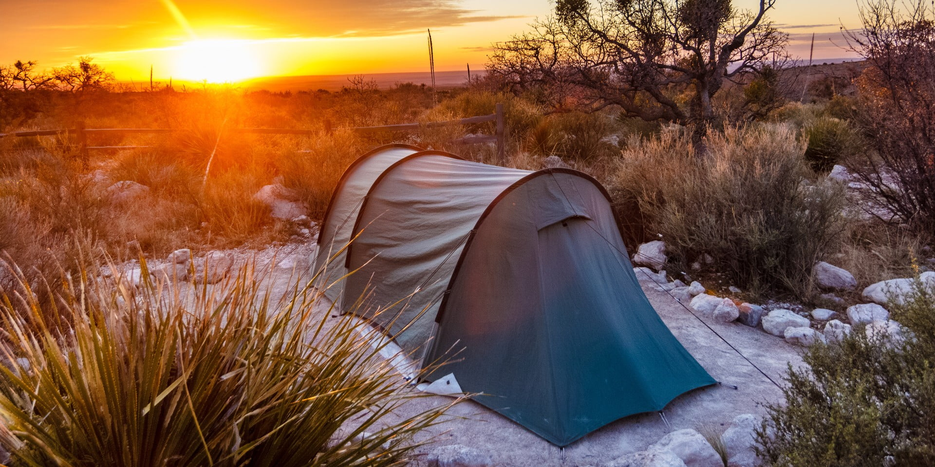 Best winter tent camping in texas